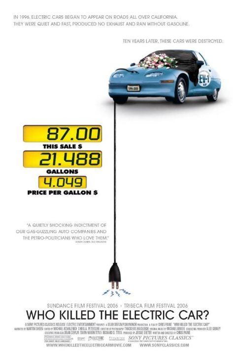 quien mato el coche electrico